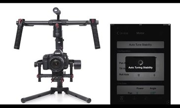 Ronin-M Tutorials - Tuning the DJI Ronin-M Assistant App