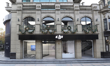 DJI Opens Its Second China Flagship Store In Shanghai