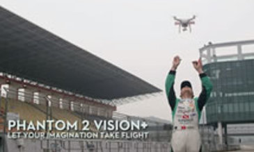 Phantom 2 Vision+ and Motor Racing