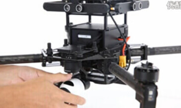 DJI Guidance Tutorial: Mounting the Guidance to the M100