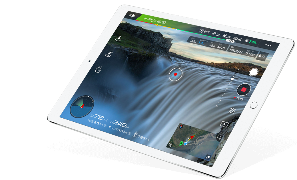 DJI GO - Capture and Share Beautiful Content Using this New App