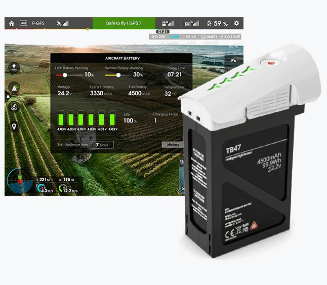 DJI Inspire 1 RAW Intelligent Power Management System