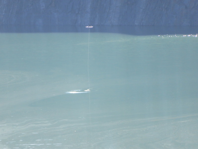 Water Sample taken via Drone