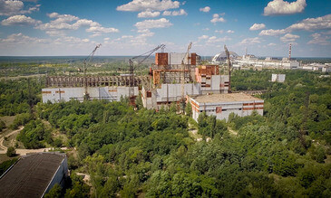 DJI Phantom Drones Over Chernobyl