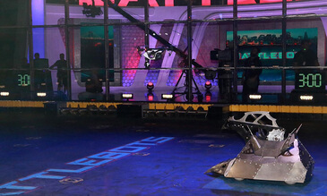 Into the Battle Arena: Inspire 1 Films BattleBots
