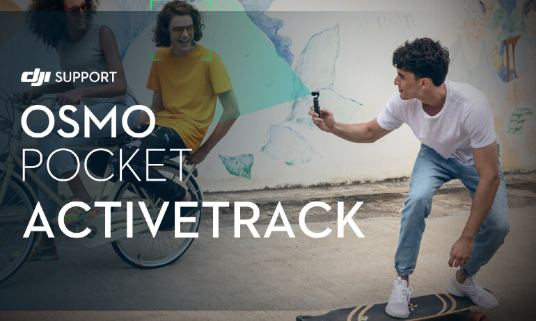 DJI - Osmo Pocket - ActiveTrack