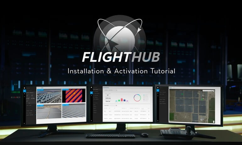 DJI FlightHub Private Cloud Access Installation & Activation Tutorial