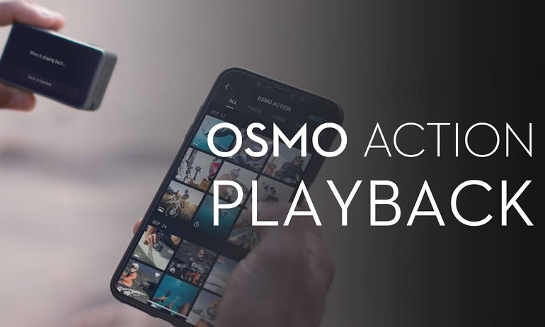 DJI - Introducing Osmo Action's Playback Function