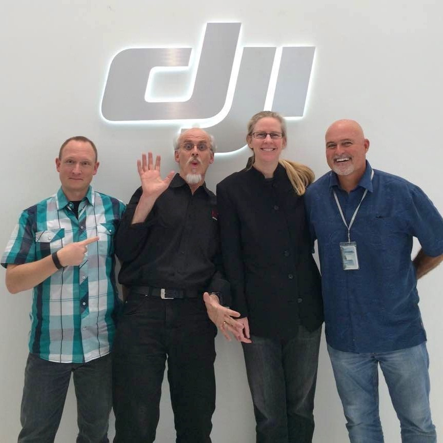 Brown And Kost Also Paid A Visit To The DJI Headquarters In Shenzhen On February 8th Touring Office Holding Collaborative Discussions With