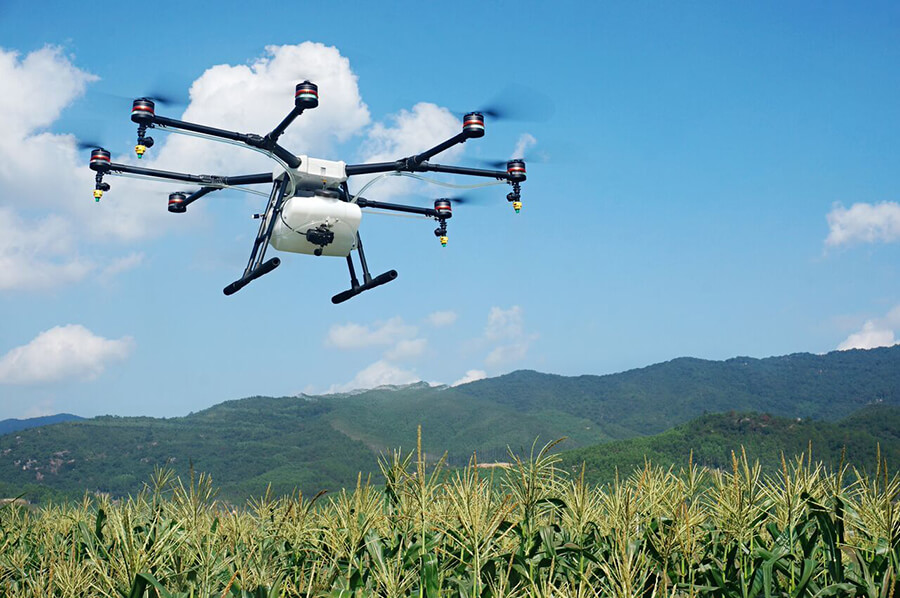 DJI Introduces Company's First Agriculture Drone